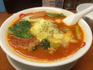 太陽のトマト麺!太陽のチーズラーメン!!!