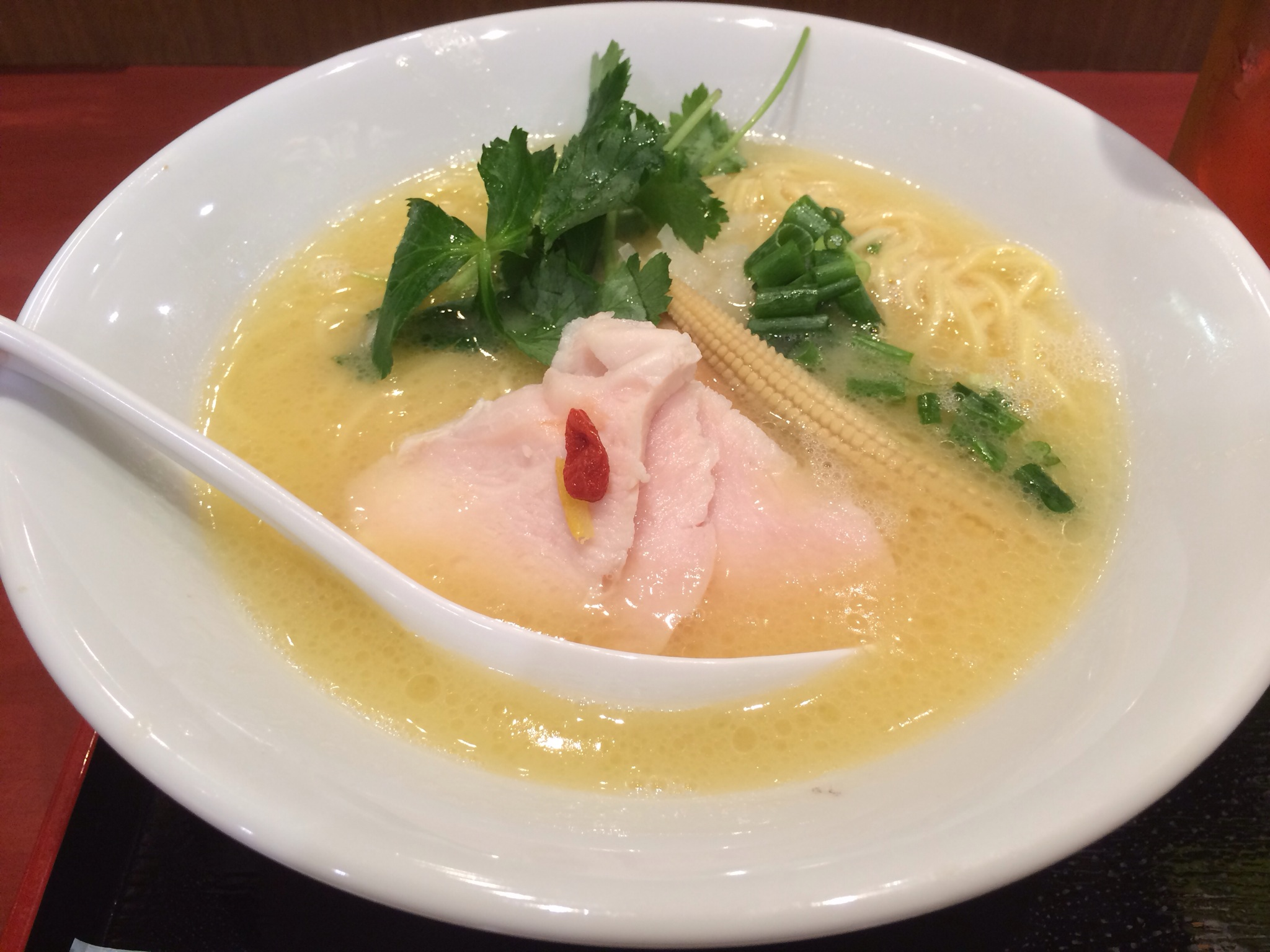 銀座 篝 ラゾーナ川崎店!鶏白湯SOBA!!!