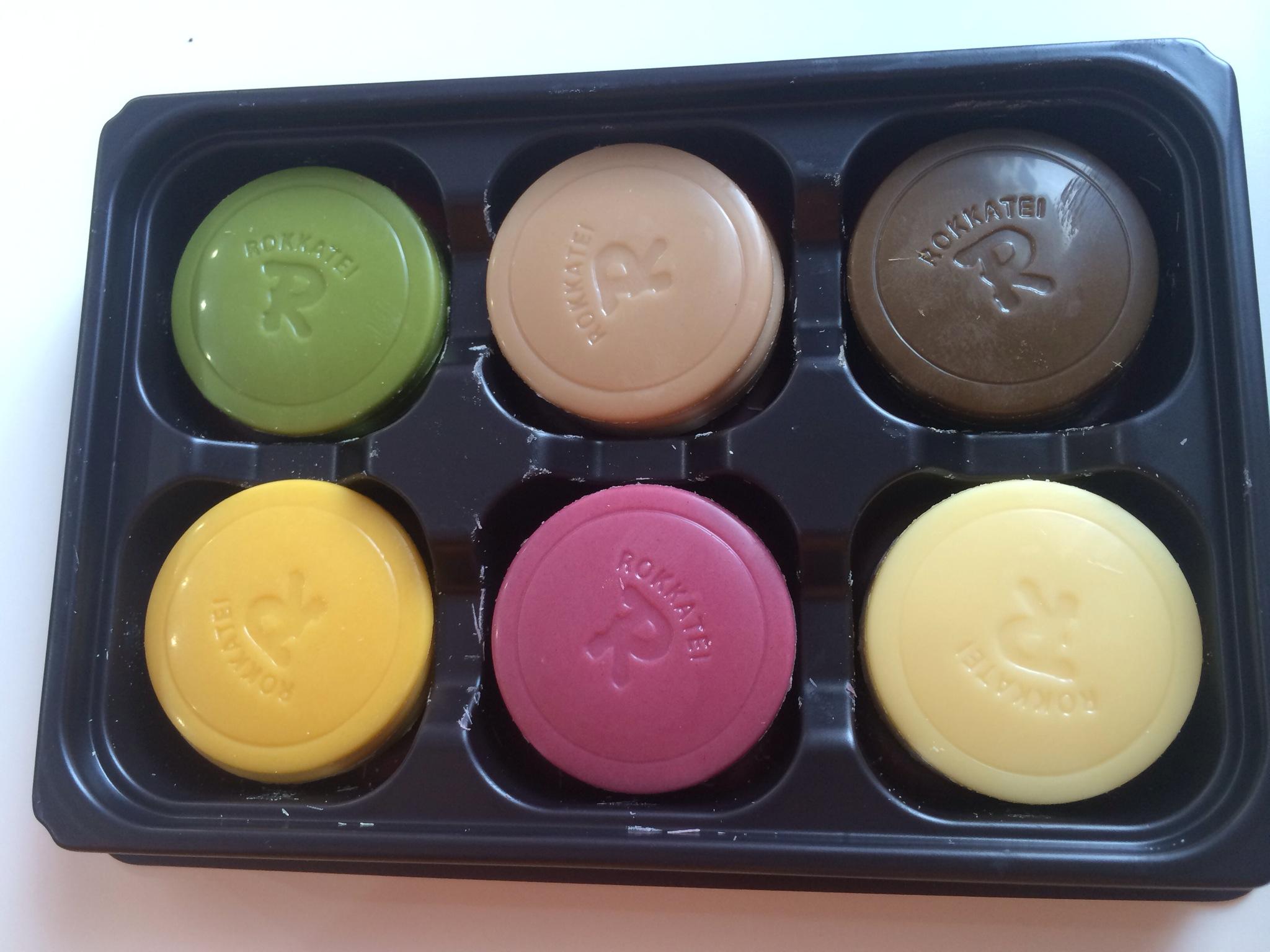 カラフルなチョコレートがきれいです!!!