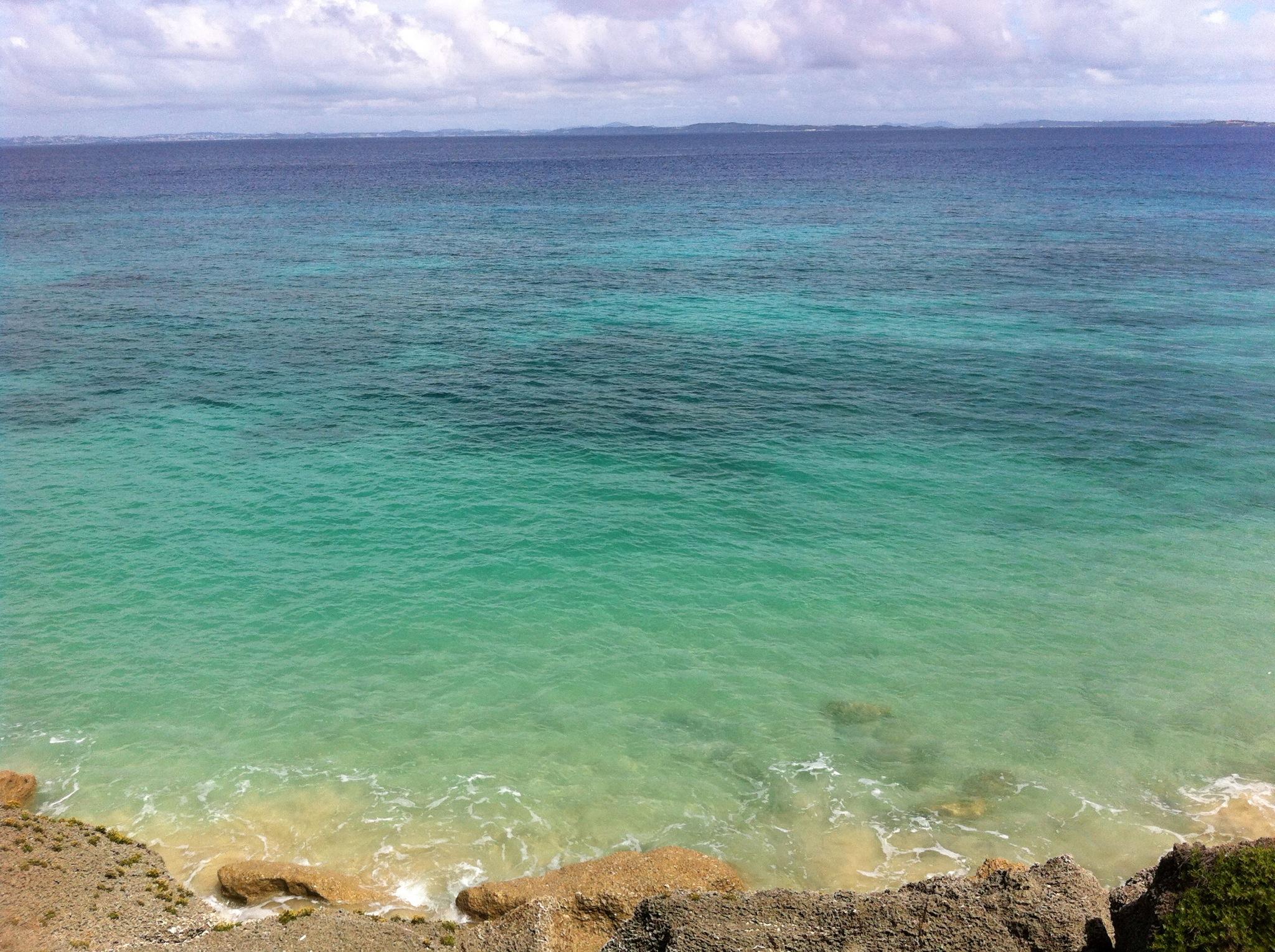 ほんとうに自然に囲まれた島で美しいです!!③