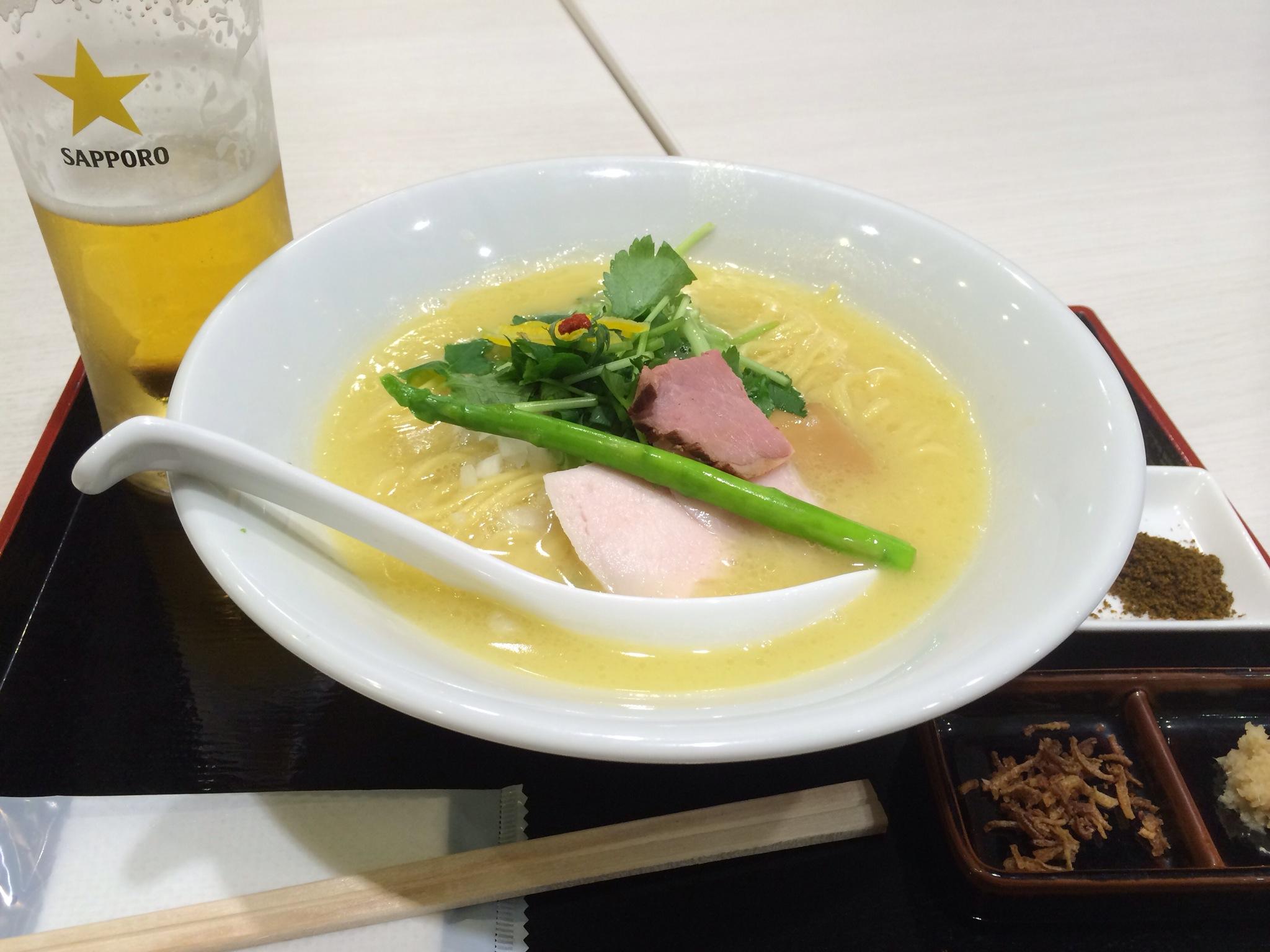 ラーメン篝の鶏白湯SOBA!この日の昼にまた食べちゃいました!