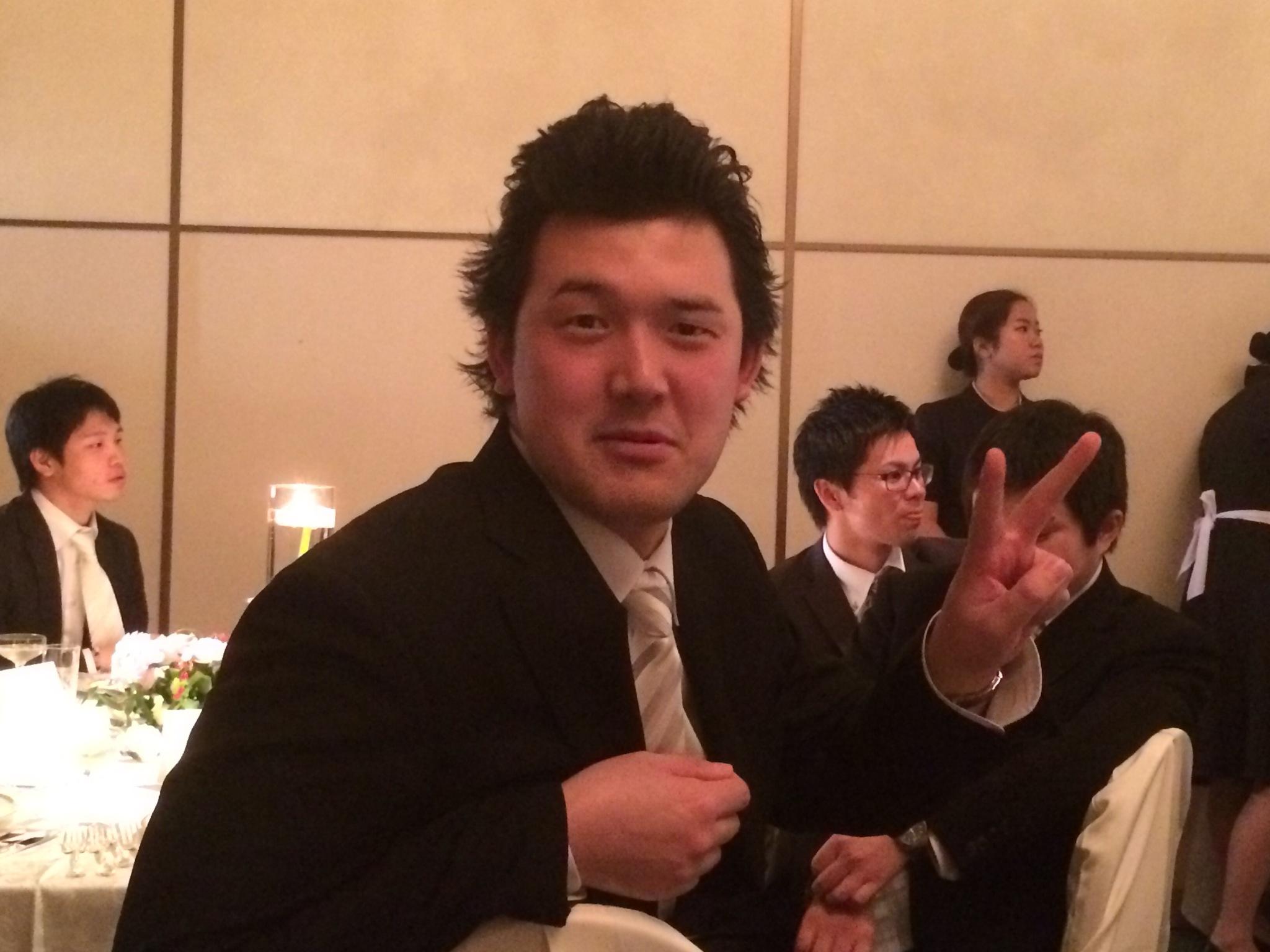 中村獅童?新郎ひろきの親友です!!