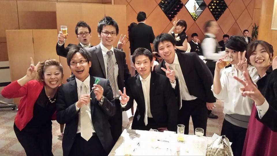 大正大学卓球部で集合写真!!!!