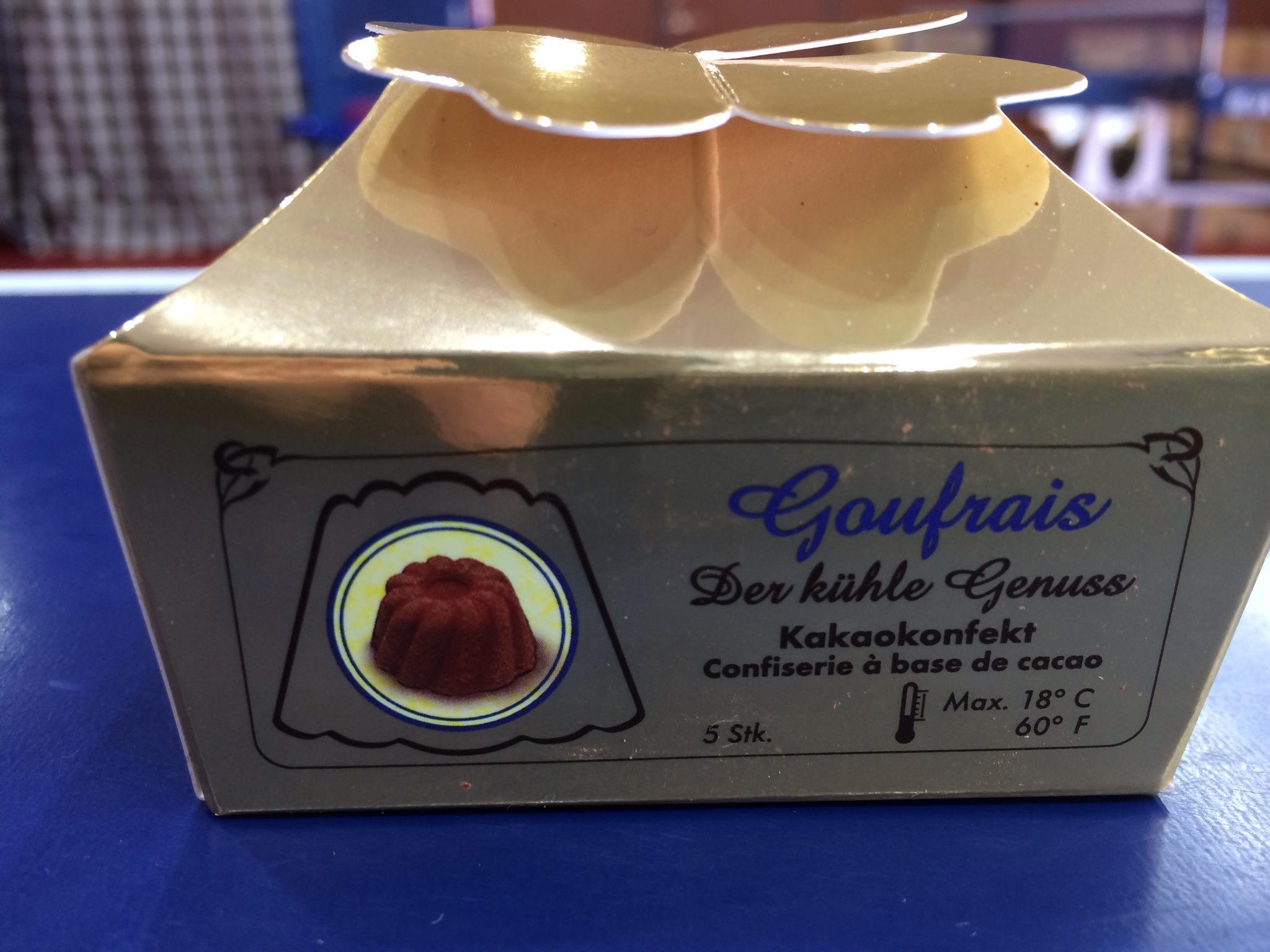 ドイツの土産のチョコレート!おいしいです(*^_^*)