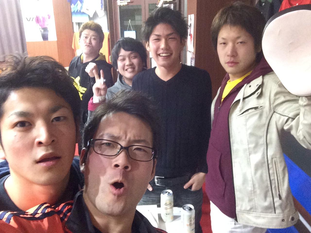 集合写真!忘年会楽しすぎましたヽ(^o^)丿