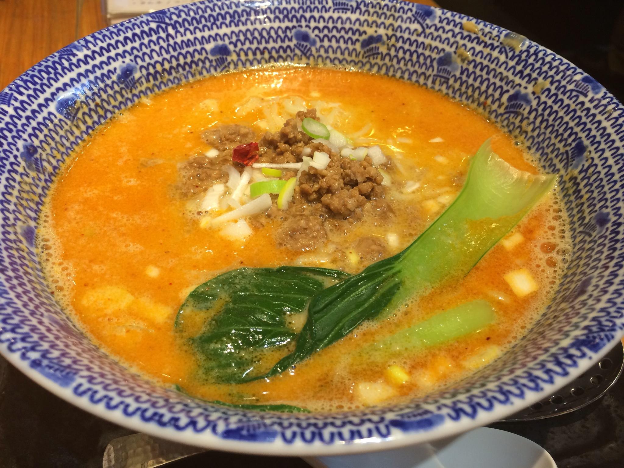 武蔵新城つけ麺まき野の担担麺!!!これ好きです(*^_^*)