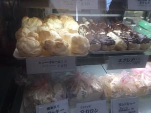 シャトーのシュークリーム1個60円!エクレア70円!!安い!