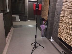 玄関の前で試してみましたヽ(^o^)丿いい感じです!