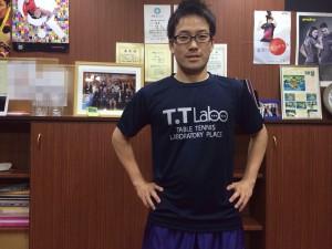T.T Labo 葛西!オリジナルTシャツ!(*^_^*)
