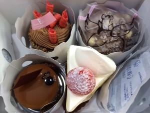 エチエンヌ!新百合ヶ丘!おいしいケーキたち!