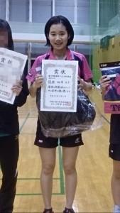 西湘オープン!一般女子優勝!