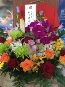 ヤマト卓球さんの松下浩二さんからいただきました!びっくりしました!