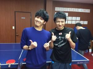 やっちゃんとテル兄は2人とも全日本ジュニア8!いい顔してます!