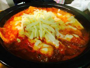 トッポキ(チーズがけ)