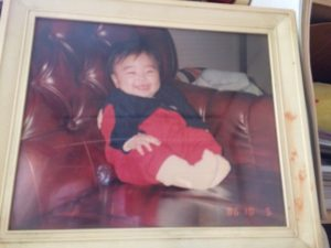 私の小さい時の写真がありました!!