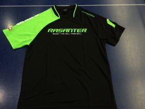 ラザンターゲームシャツ!ブラックとグリーンがかっこいいです!