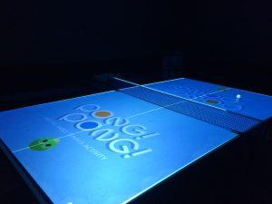 プロジェクションマッピングをしようした卓球ゲーム!