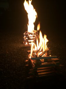 迎え火・送り火