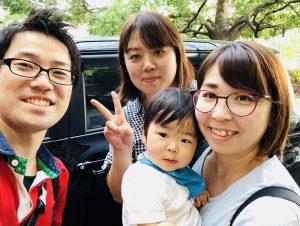 大学の先輩が名古屋駅からスカイホール豊田まで送ってくれました!