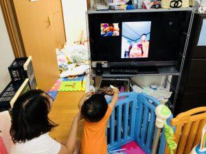 弘前のおばあちゃんともテレビ電話しました(*^_^*)