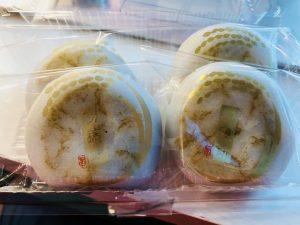 生田駅前の亀屋万年堂の初穂餅!おいしいです!