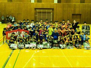 みんなで集合写真!千木良合宿2018!最後はTリーグに向けTポーズ!