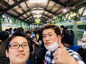 両国駅幻の3番ホームで祐コーチと卓球!!
