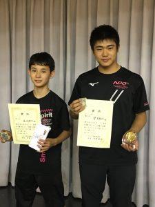 八王子オープン!3位・5位入賞!