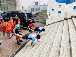 卓球に必要な体幹、上半身の力が鍛えられます!