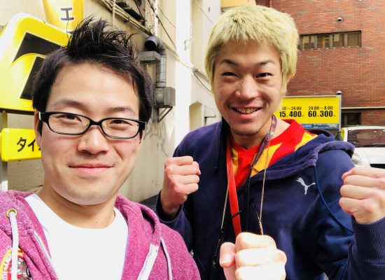 日本タイトルマッチ!佐々木左之介!