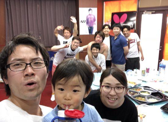 川崎卓球ジム・6周年パーティー!集合写真!