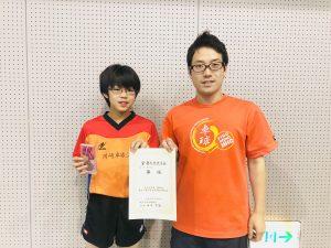ベスト8入賞!おめでとう!!