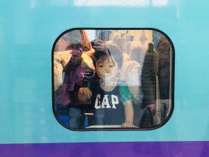 電車楽しいみたいです!