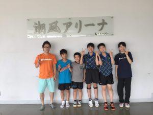 千木良のはるかコーチと集合写真!