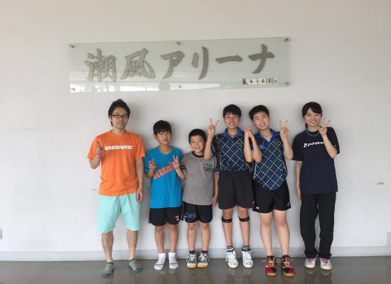 千木良と川崎卓球ジムのコラボレーション!