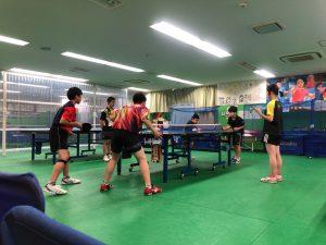 関東大会出場者とダブルスで対戦!貴重な体験をさせていただきました!