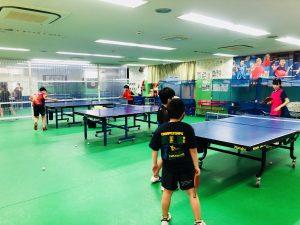 関東大会出場者も練習にきていました!
