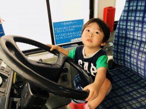京王バス!運転席を体験できます!(*^_^*)