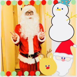 サンタさん!楽しいですね^_^