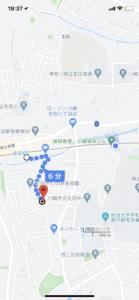 生田駅~お店!徒歩6分