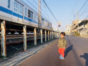 お散歩しています!小田急線大好きです!