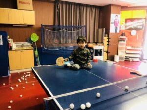 卓球楽しくなってきているようでうれしいです!(*^_^*)