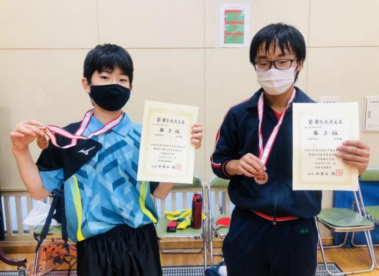 川崎市新人戦3位4位5位入賞!