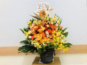 土地の売主さんからお花をいただきました!本当にありがとうございます!
