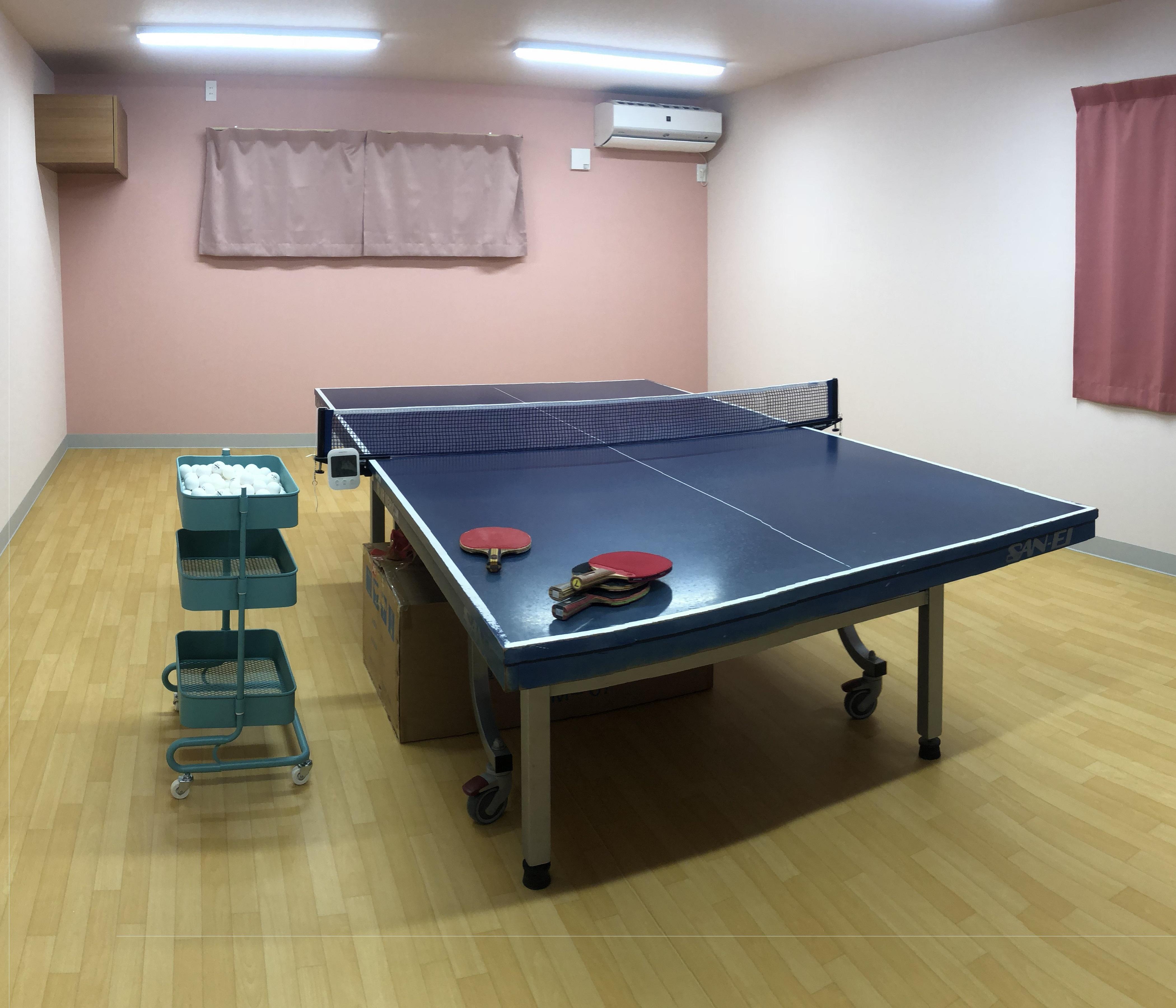 2階卓球台